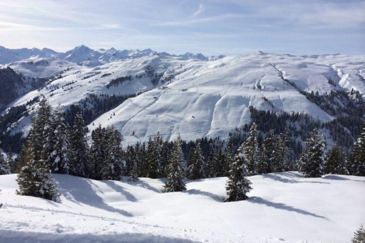 Traumhafte Berglandschaften rund um Kitzbühel.