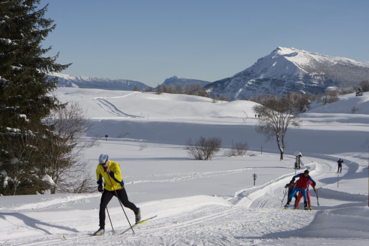 Auch Langlauf-Fans kommen am Monte Bondone auf ihre Kosten.