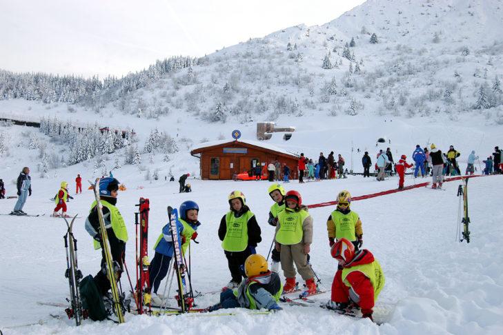 Für die Kleinen gibt es im Skigebiet Monte Bondone einen extra gesicherten Bereich.