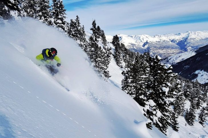 "Buchstabe ""O"" aus dem Skilexikon: Offpiste."