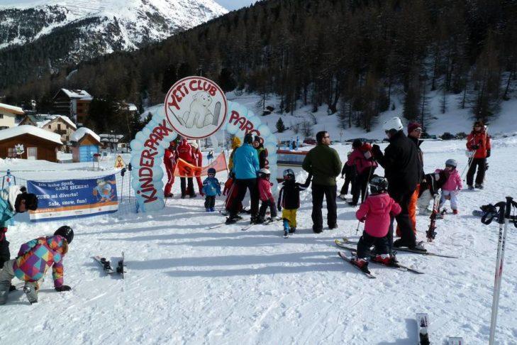 Top-Kinderbetreuung im Skigebiet Sulden.