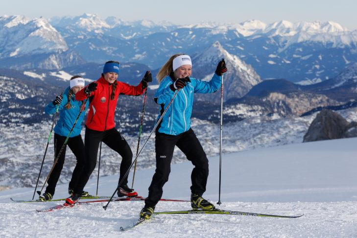 Das Langlauf-Angebot von Klassisch bis Skating kann sich in der Region Schladming-Dachstein sehen lassen.