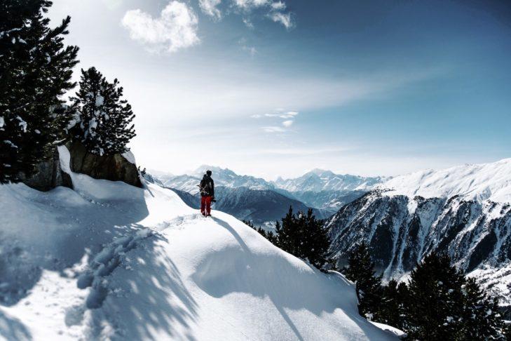 Querfeldein am Aletschgletscher.