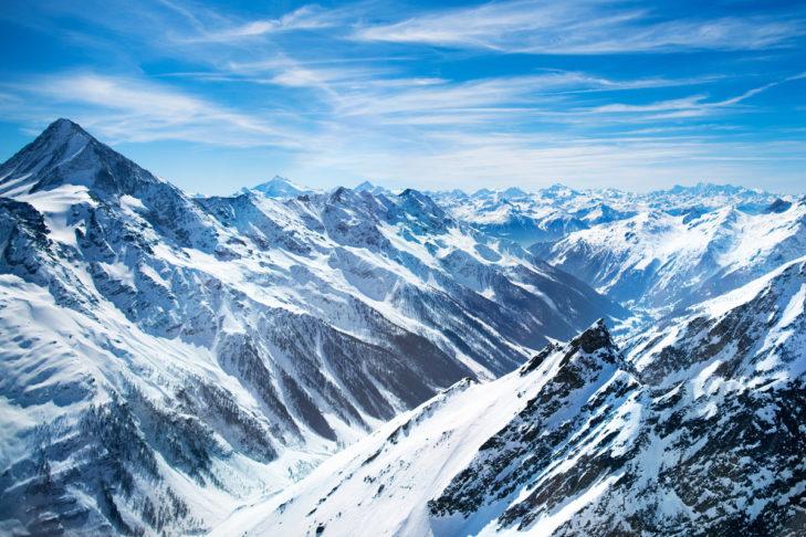Der majestätische Aletschgletscher.