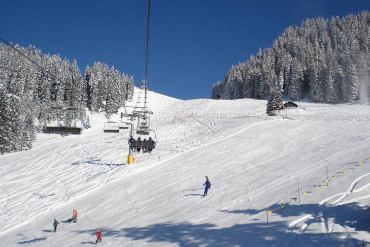 Das Skigebiet Skischaukel Berwangertal ist besonders bei Familien beliebt.