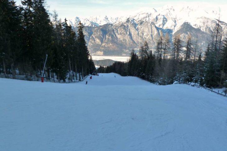 Die Götzner-Abfahrt zählt zu den schönsten Pisten Österreichs.