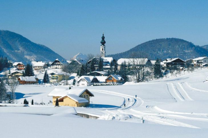 Die beschauliche Gemeinde Faistenau bietet sich als idealer Ausgangspunkt an, um z.B. Wanderungen am Fuschlsee zu unternehmen.