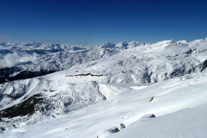 Ganze 187 Pistenkilometer warten im Skigebiet Laax.
