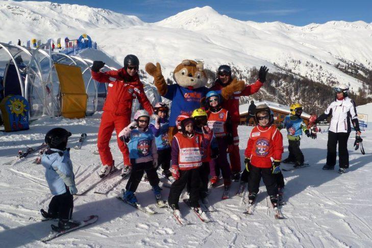 Das Skigebiet ist besonders bei Familien beliebt.