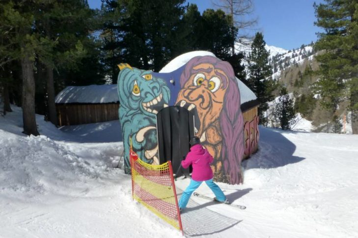 Im Skigebiet Obertauern geht's ab in die Gruselhütte.