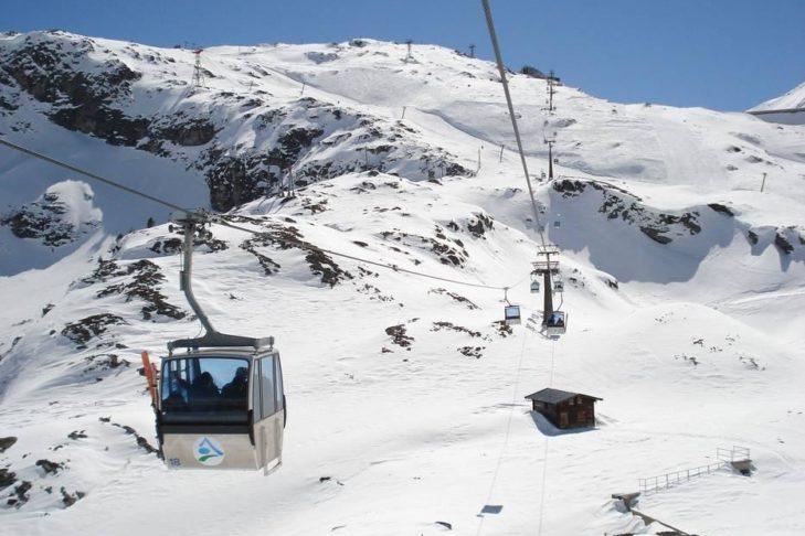 Das Skigebiet Weißsee Gletscherwelt ragt bis auf 2.600 m.