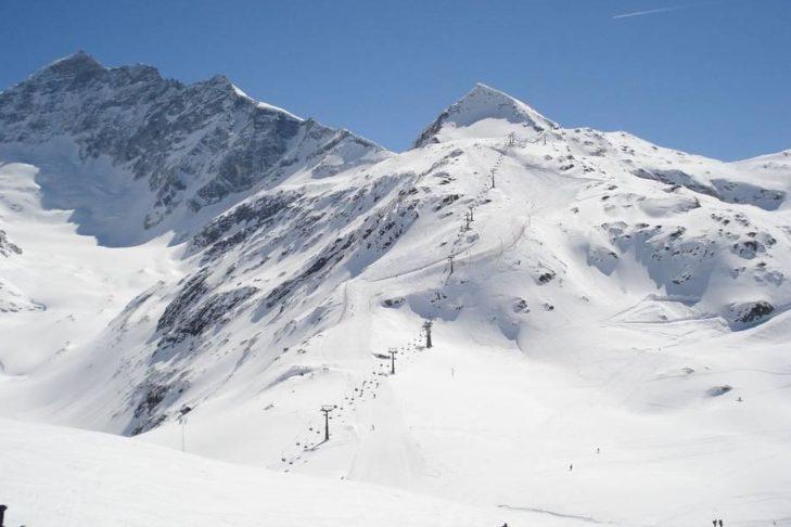Das Skigebiet Weißsee Gletscherwelt bietet eine hohe Schneesicherheit.