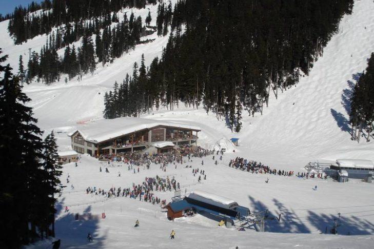Whistler: Im Bergrestaurant kann der Hunger gestillt werden.