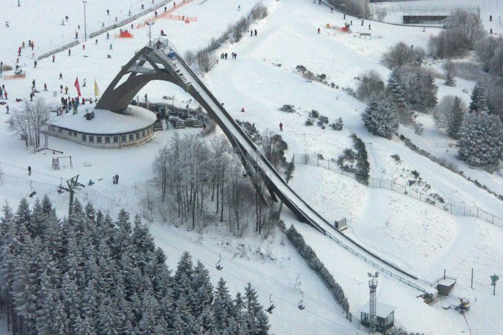 Weltbekannt: Das Skigebiet in Winterberg.