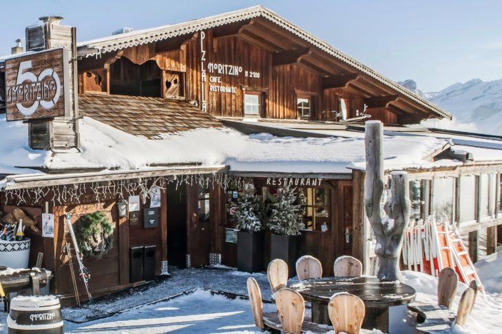 Der Club Moritzino ist eine der Anlaufstellen auf der Gourmet-Safari.