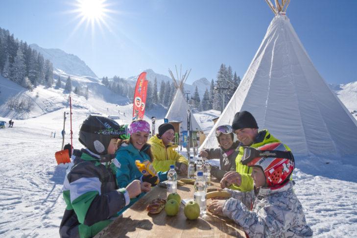 Skigebiet Adelboden-Lenk: Winterspaß für die ganze Familie.