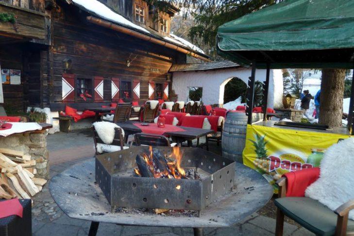 Das Skigebiet Bad Kleinkirchheim/St. Oswald lädt auch zum gemütlichen Einkehren ein.