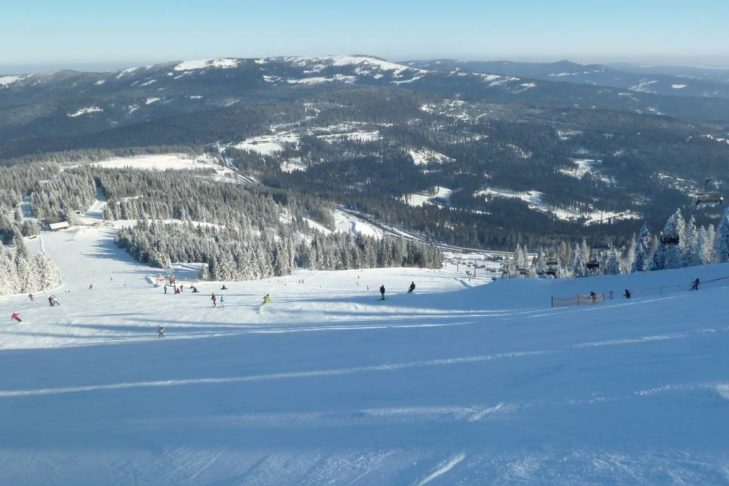 Im Skigebiet Großer Arber sind Familien gut aufgehoben.