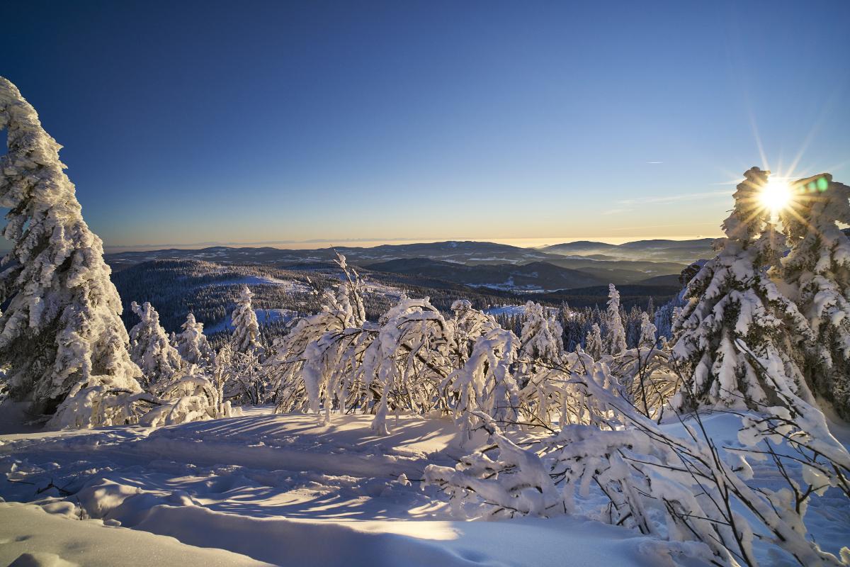 Skigebiet Bodenmais Silberberg Skifahren Pistenplan Apres Ski
