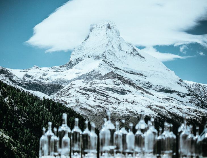 Diesen exklusiven Ausblick auf das berühmte Matterhorn genießt man im Chez Vrony.
