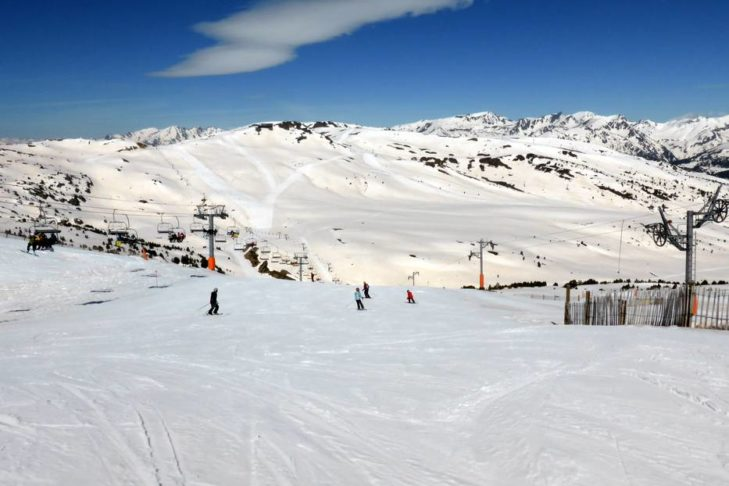 There are slopes for young and old in the Grandvalira ski area.
