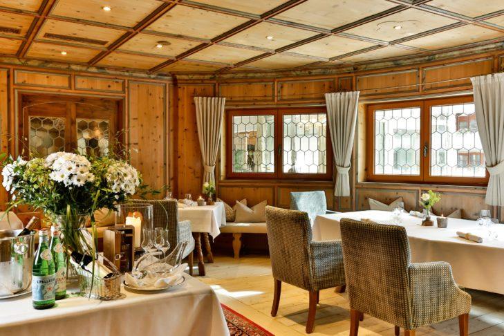 Traditionelle Küche in der Heimatbühne im Hotel Trofana Royal.