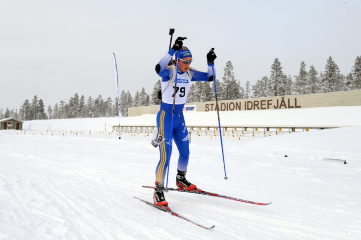 Langläufer IBU Cup, Idre Fäll. Foto Nisse Schmidt