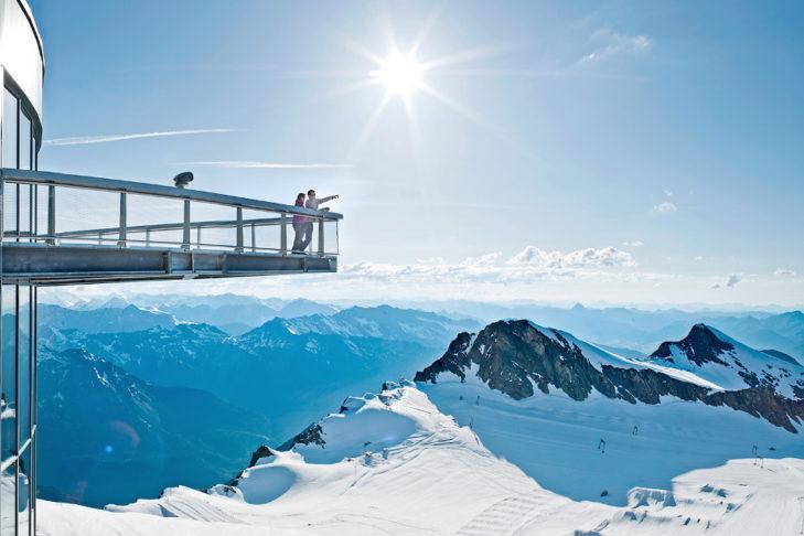 """Vom Aussichtspunkt """"Top of Salzburg"""" hat man einen Wahnsinns-Blick!"""