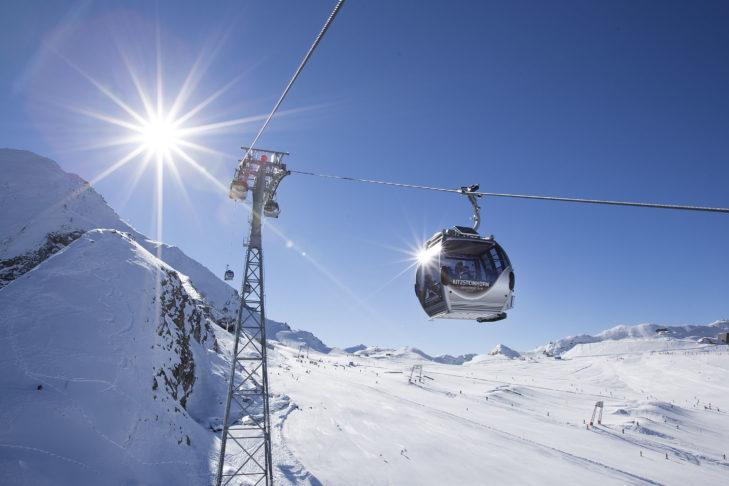 Im Sommer kann auch im ersten Gletscherskigebiet Österreichs skifahren.