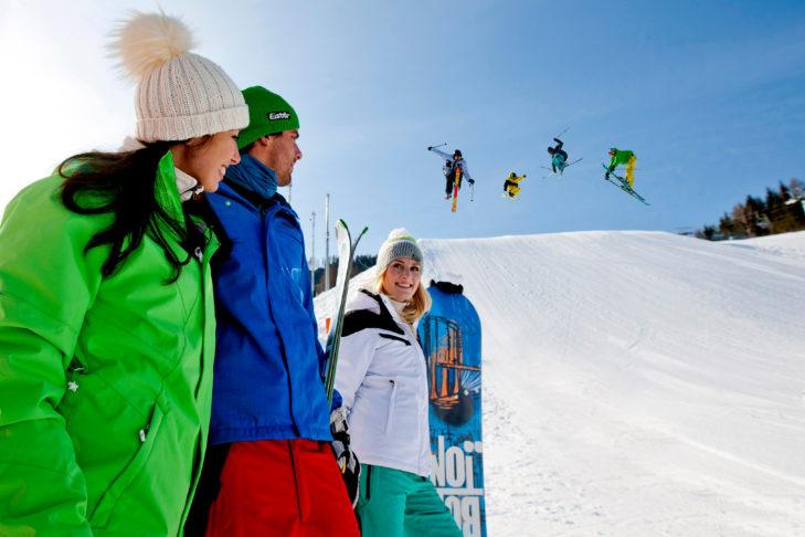 Freestyler finden am Kreischberg eine große Spielwiese.