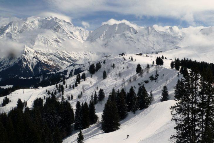 Ganze 468 Pistenkilometer warten im Skigebiet Évasion Mont-Blanc auf Wintersportler!