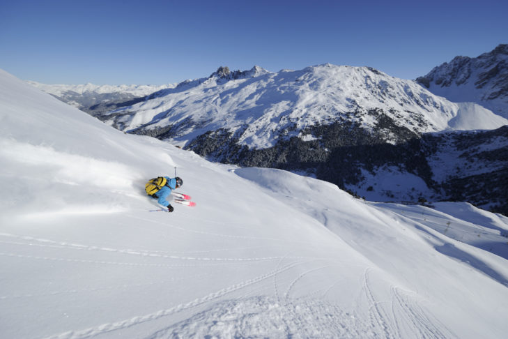 Die Skiregion Les 3 Vallées steht für endlose Pistenkilometer.