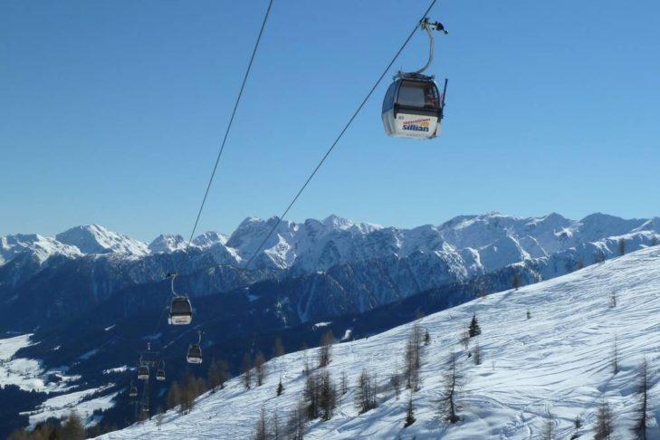 Das Skigebiet Sillian/Thurntaler erwartet Winterurlauber im Tiroler Hochpustertal.