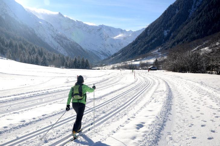 Langläufer kommen rund um Steinach am Brenner auf ihre Kosten.