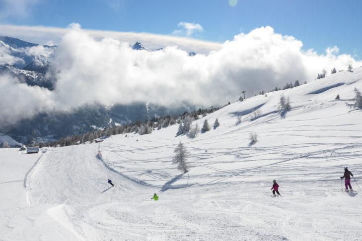 Das Skigebiet Ski- & Freizeit-Arena Bergeralm ein Winterparadies für die ganze Familie.