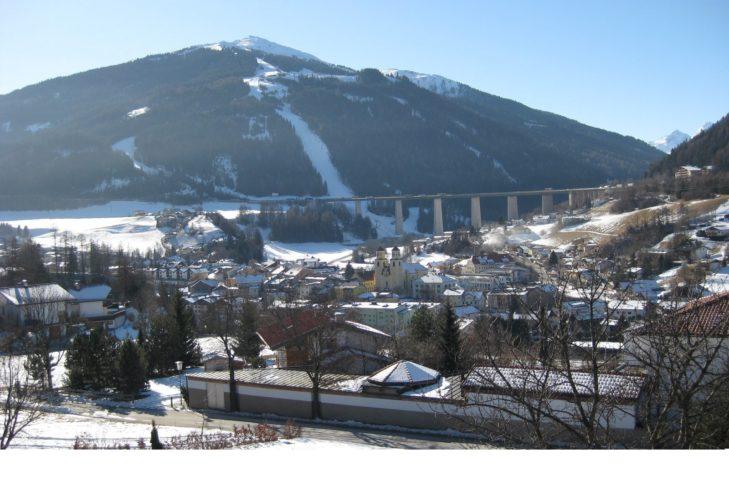 Blick auf Steinach am Brenner.
