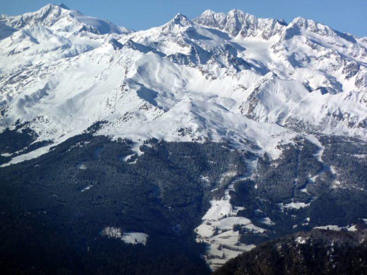 Skigebiet Wipptal: Pisten gibt es ober- und unterhalb der Baumgrenze.