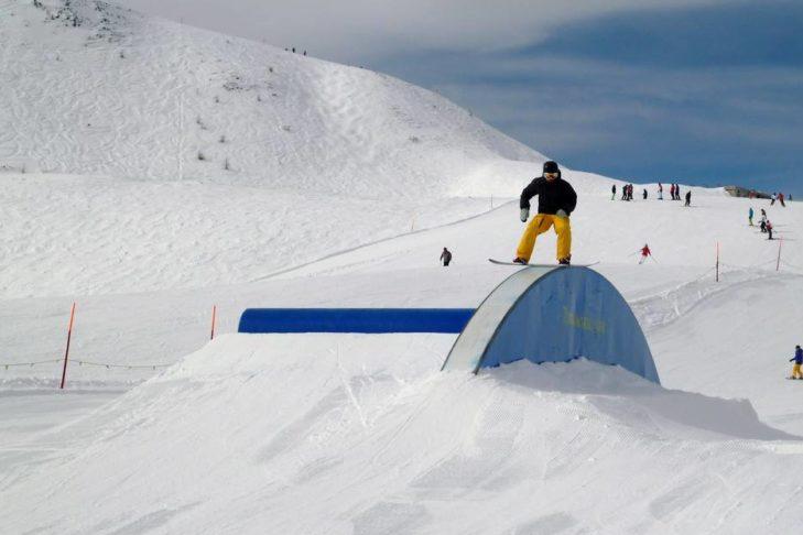 Funpark im Skigebiet Turracher Höhe.