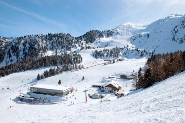 Skigebiet Speikboden im Tauferer Ahrntal.
