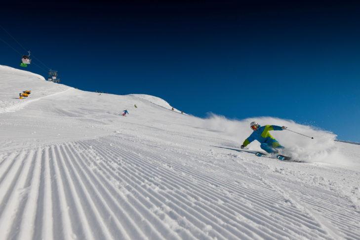 Skigebiet Tauplitz: Carving-Freaks können sich auf den breiten Pisten austoben.