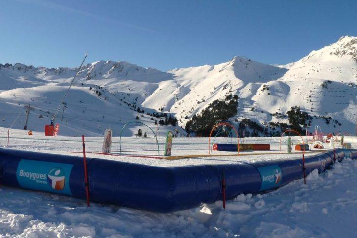 Kinderland im Skigebiet Les Arcs/Peisey-Vallandry.