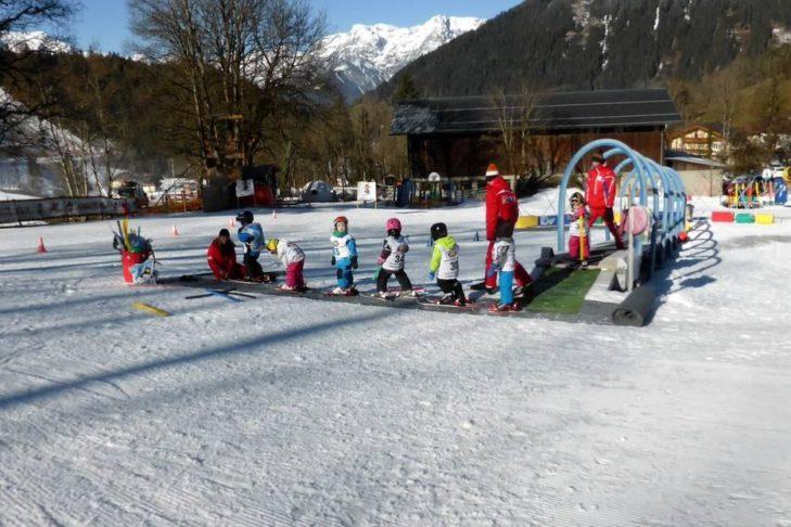 Zauberteppich im Skigebiet Werfenweng.