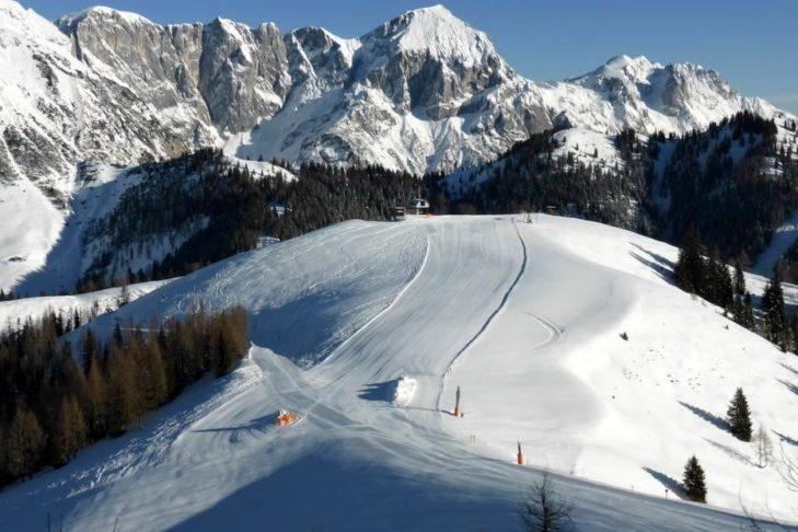 Skigebiet Werfenweng: Die Abfahrten befinden sich in Höhenlagen zwischen 902 und 1.834 m.