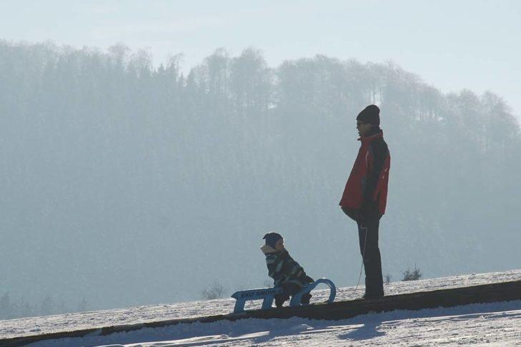 Wer nicht Skifahren möchte, geht in Willingen rodeln.