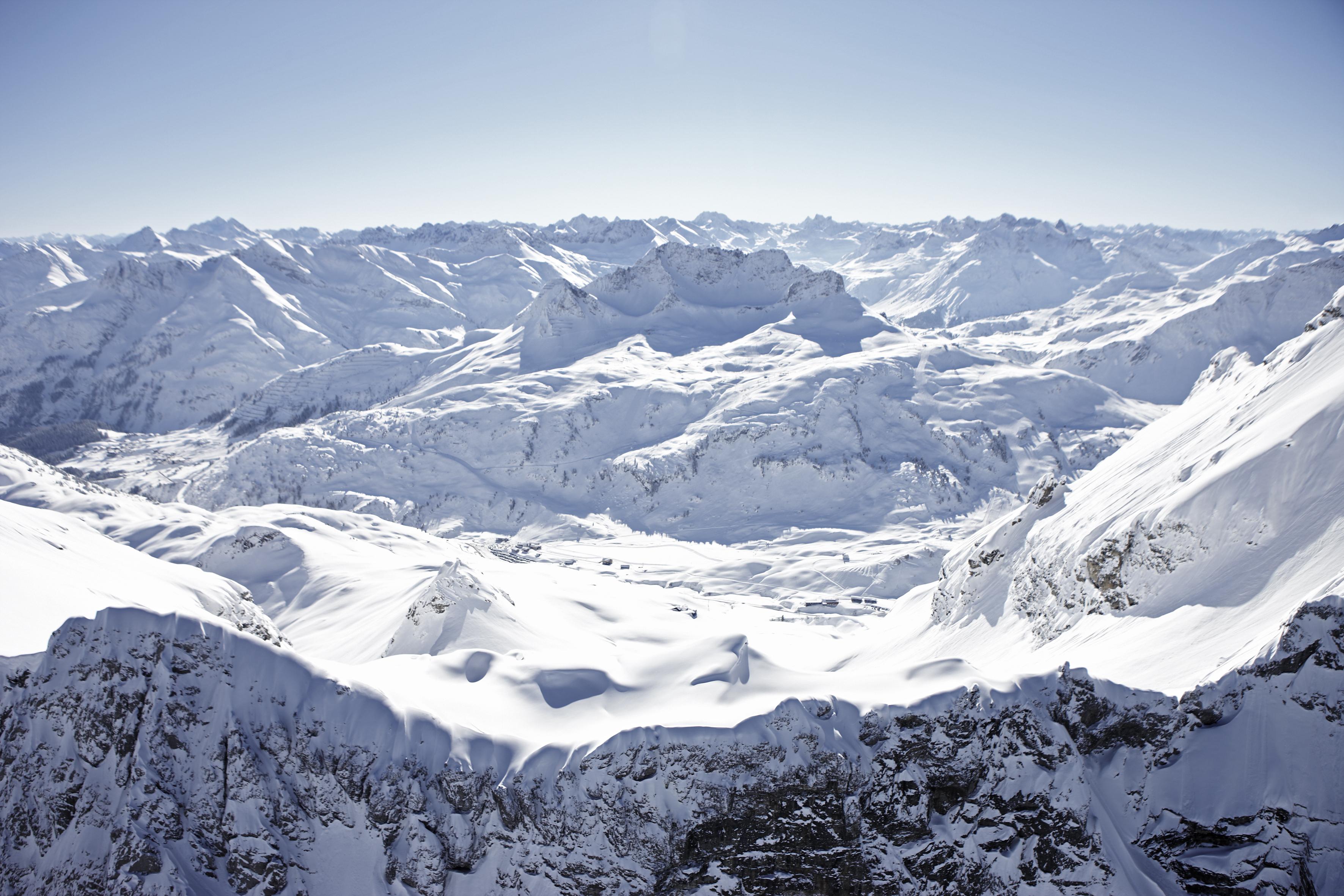 Skigebiet Warth Schrocken Skifahren Pistenplan Apres Ski