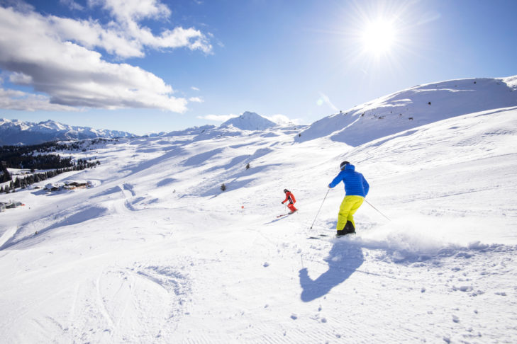 Skigebiet Südtiroler Wipptal: Genussvolles Schwingen im weichen Schnee des Wipptals.