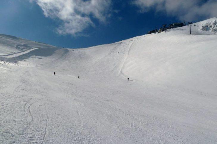 Im Skigebiet Kasprowy Wierch laden breite Pisten zu großen Schwüngen ein.