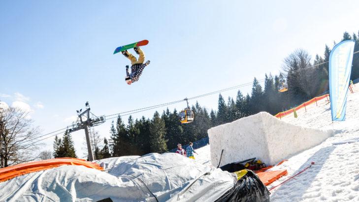 Im Skigebiet SKI & SUN Świeradów-Zdrój kommen Freestyler auf ihre Kosten.