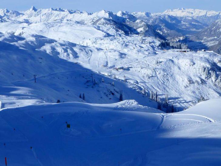 Das Skigebiet Sonnenkopf ist ein ausgewiesenes Naturschnee-Skigebiet.