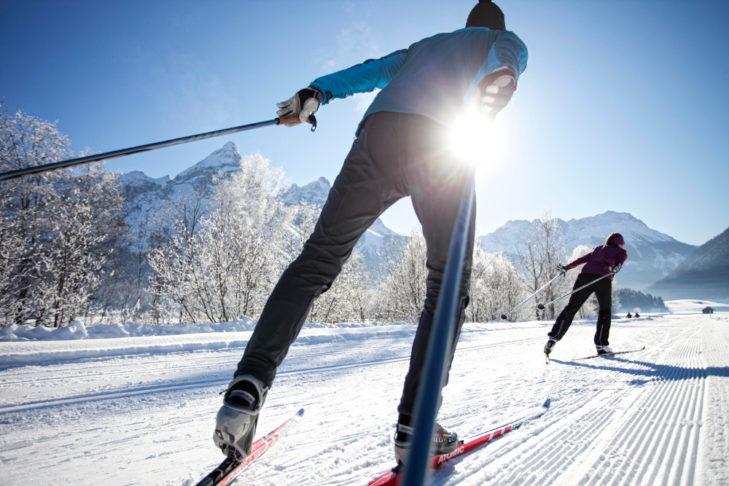 "Buchstabe ""X"" aus dem Skilexikon: X-Cross-Country."